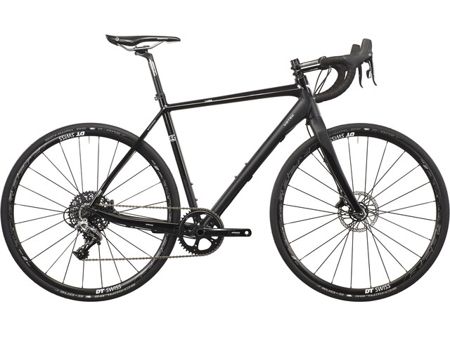 VOTEC VRX-G Pro - Gravel Bike - black matt/black glossy